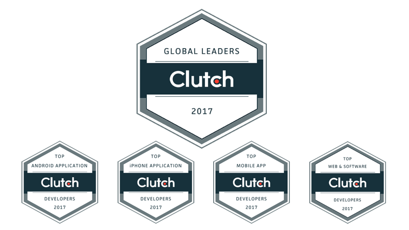 Dom & Tom Earns Spot on Clutch Global Leader List 2017 | Dom
